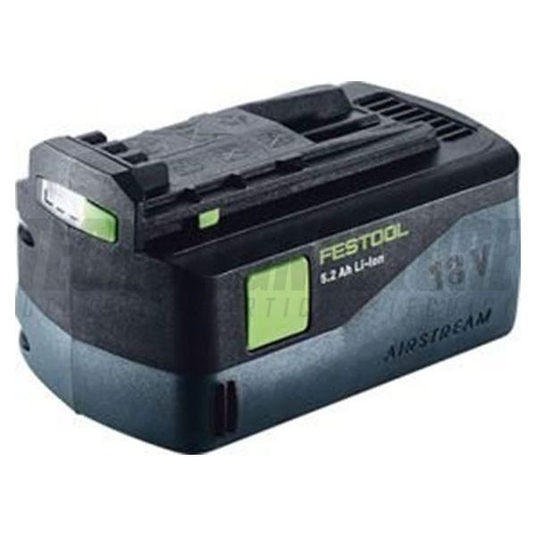 BATTERIA 5,2 AH 18V AIRSTREAM LED (Li-Ion) FESTOOL