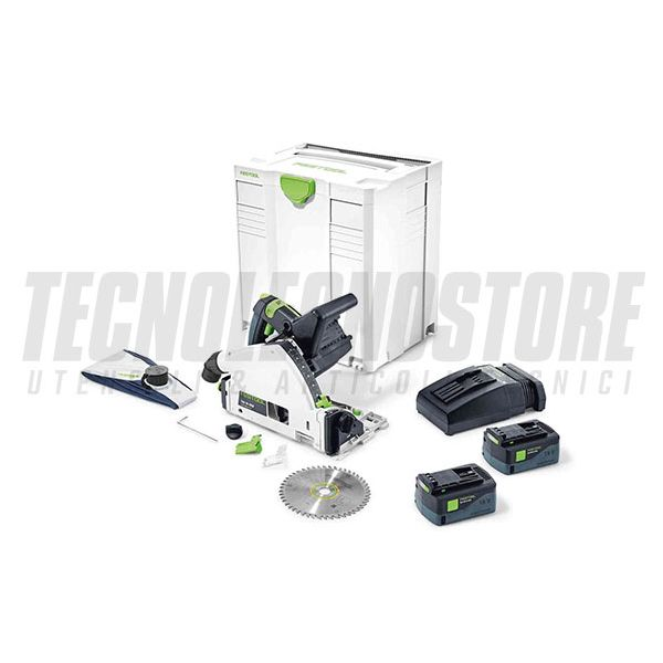 SEGA AD AFFONDAMENTO A BATTERIA TSC 55 Li REB-PLUS FESTOOL