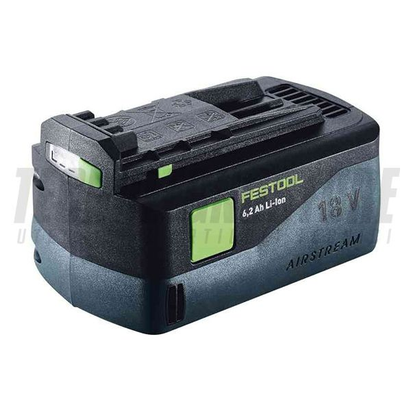 BATTERIA 6,2 AH 18V AIRSTREAM LED (Li-Ion) FESTOOL