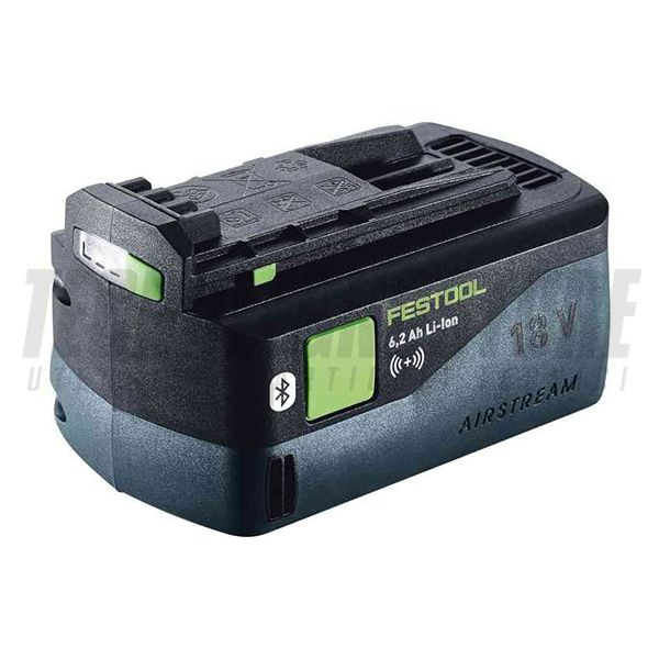 BATTERIA 6,2 AH 18V BLUETOOTH AIRSTREAM LED (Li-Ion) FESTOOL