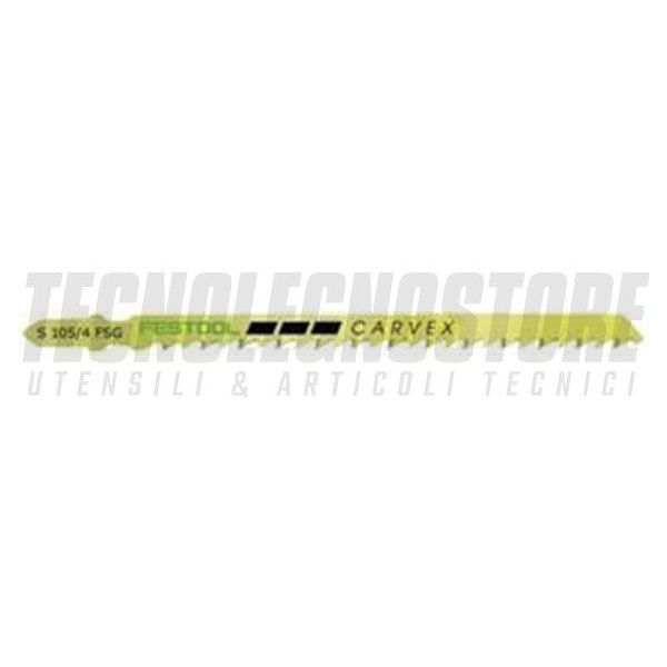 LAME EXTRA ROBUSTE S 105-145/4 FSG SEGHETTO ALTERNATIVO FESTOOL (CONF. 5 PZ.)