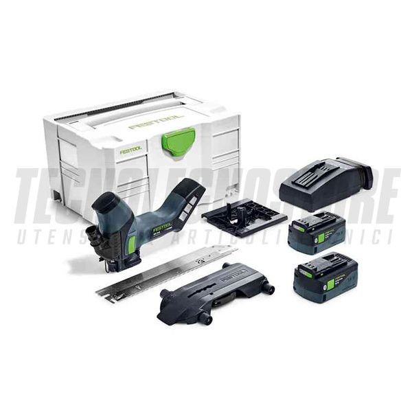 SEGA A BATTERIA PER MATERIALI ISOLANTI ISC 240 Li 5,2 EBI-PLUS FESTOOL