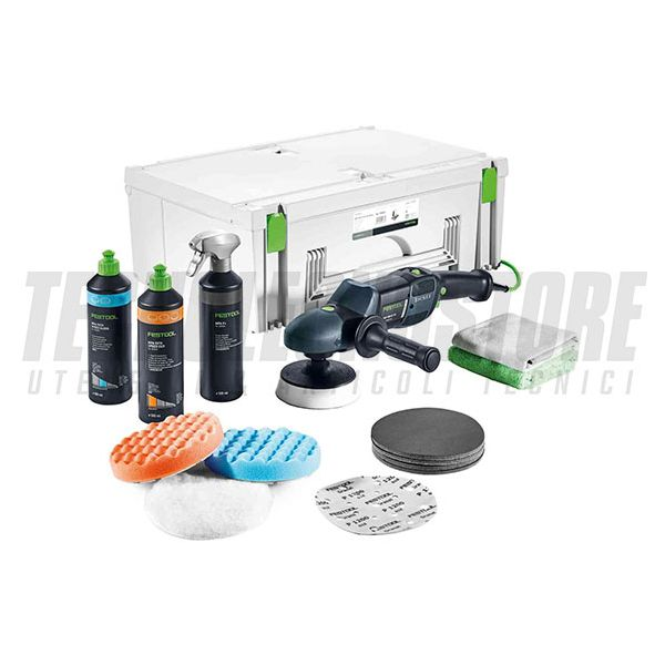 Lucidatrice rotativa RAP 150-21 FE-Set Wood SHINEX Festool