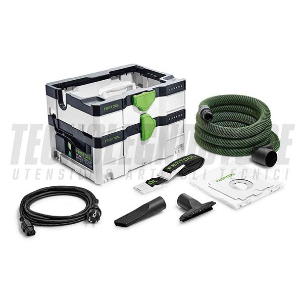 ASPIRATORE SYSTAINER CTL SYS CLEANTEC FESTOOL