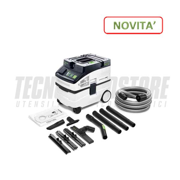 FESTOOL ASPIRATORE CLEANTEC CT 15 E-set