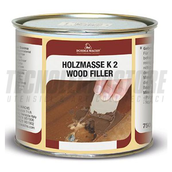 STUCCO IN PASTA BICOMPONENTE BIANCO H-MASSE K2 BORMA WACHS (CONF.750 ML)